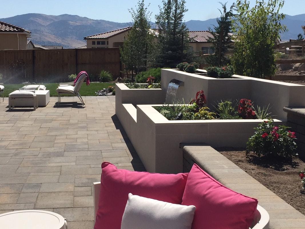 Retaining wall ideas in Reno, NV