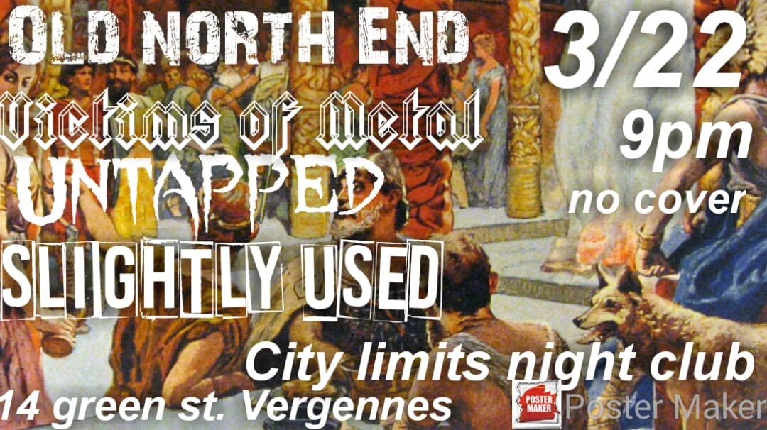 Rock Into Springtime - 3/22/19City Limits Night ClubVergennes, VTYet another snowstorm to play in……we made our way down to Vergennes to play a show with our friends in Old North End and had a great time. We made some new friends that night too!
