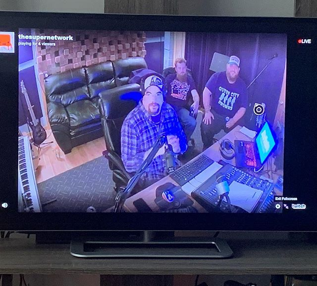 Hodge and Stevo are broadcasting LIVE from @bluvuduproductions on WTRA.online NOW! Playing @slightlyused802 's new demo and their favorite punk and metal 🤘🏼 #slightlyused #bluvuduproductions #fullmetaljacket #wtra #plattsburgh #burlington @theintoxicologistvt