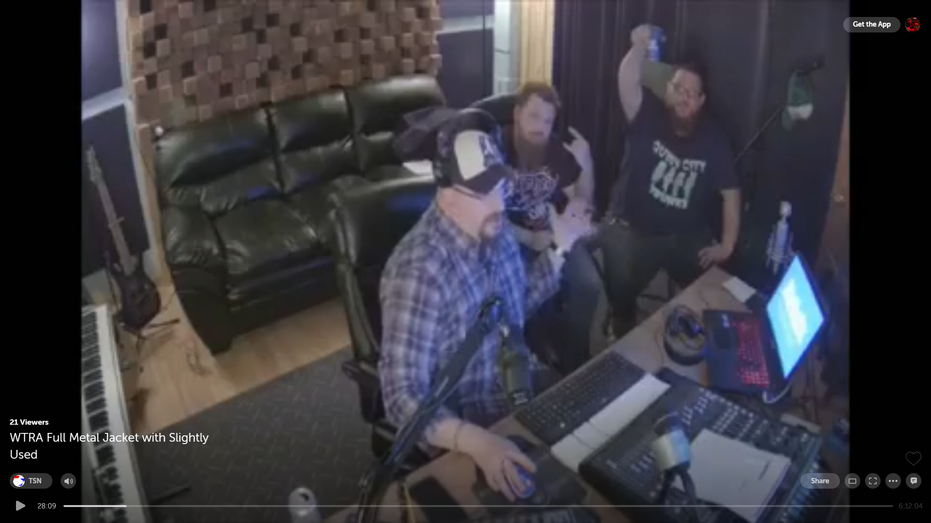 Full Metal JacketEpisode 2 - 4/10/19BluVudu ProductionsMorrisonville, NYStevo & Hodge were guest hosts on Plattsburgh's hottest new punk & metal internet show alongside host John Bradley. Much fun was had and lots of fuckery ensued. The boys were a little hungover the next day…To relive the fuckery copy/paste this link into your browser: https://www.pscp.tv/w/1MnxnvRZmXExO