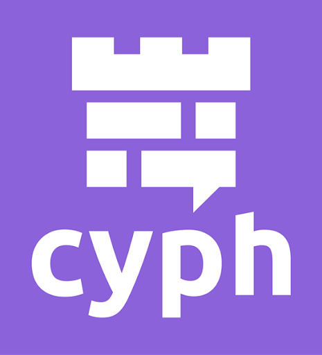 - Cyph is a secure communication tool designed to be extremely friendly for users of any technical skill level, providing such features as video calling and file transfers to both individuals and businesses. The patent-pending end-to-end encryption technology underpinning Cyph — built by former SpaceX engineers — has been rigorously vetted with great success against a threat model that focuses on nation-state-level attacks. Start cyphing now at cyph.com.