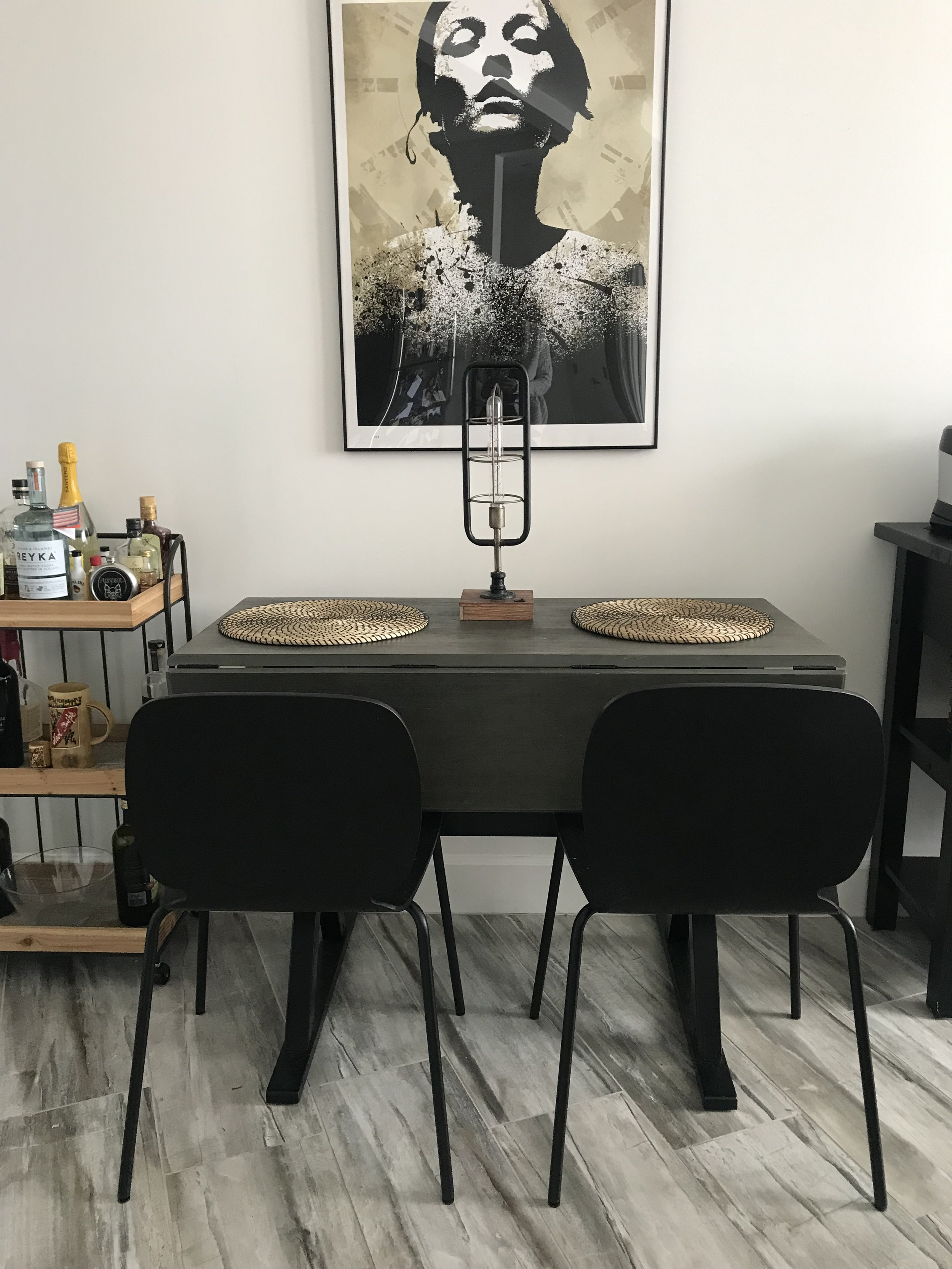 Expandable table from Target