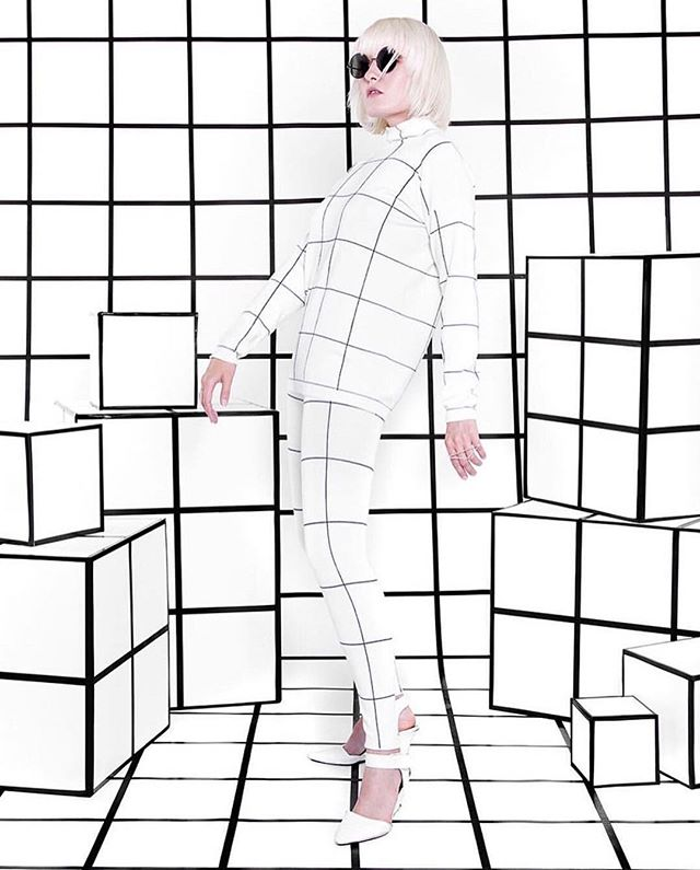 From the Archives_Once upon a Grid (1/5) Set design & 📸 @timony Model @nattyice69