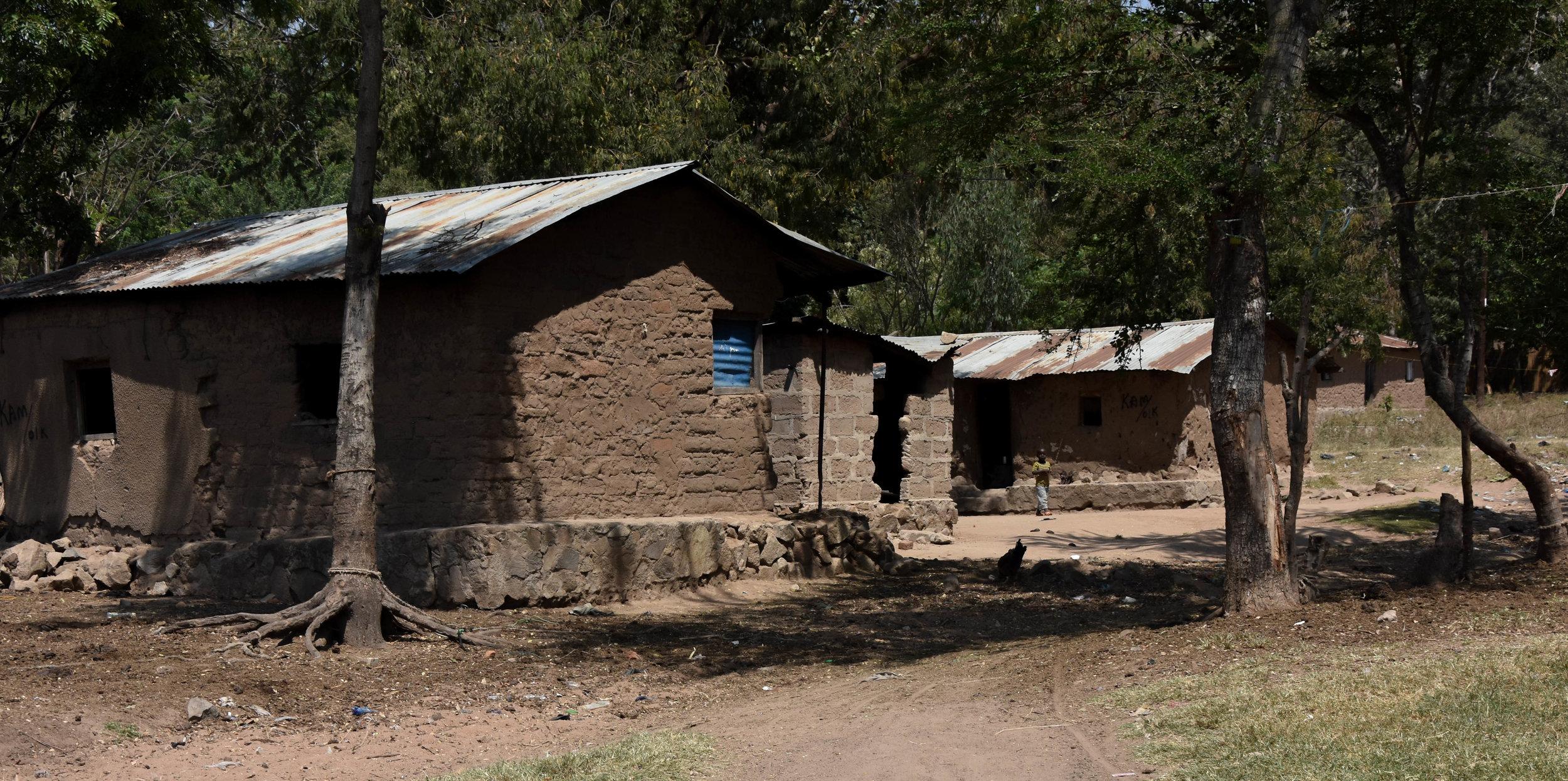 Typical housing in Kamanga - the largest village in Nyamatongo Ward
