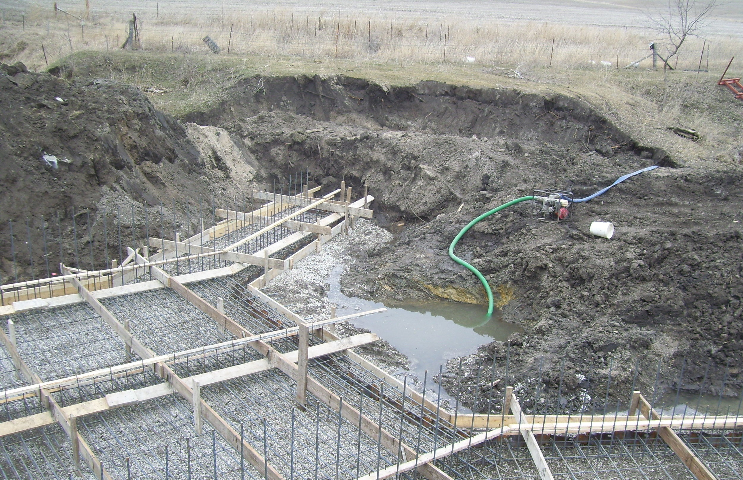 Box Culvert Floor Pour