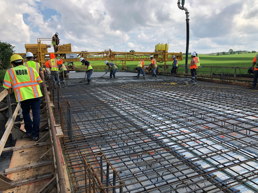 Deck Pour and Smooth