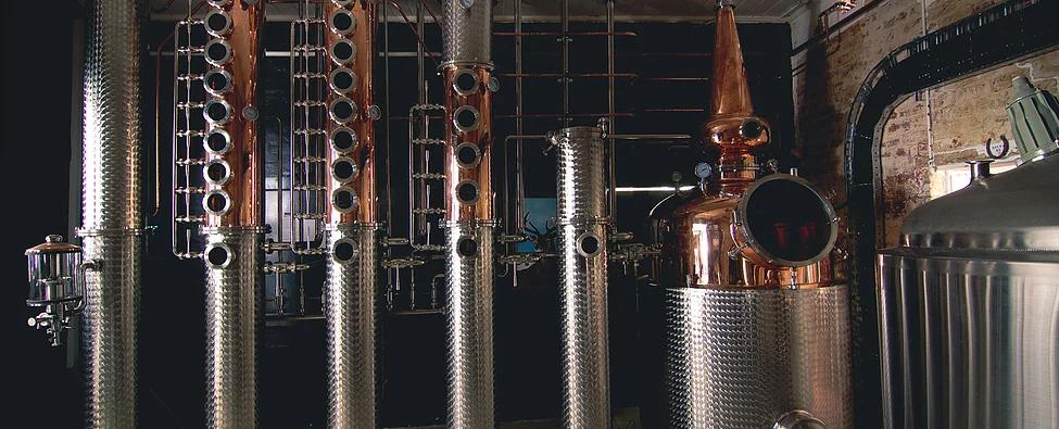 Shiny stuff at Alchemy Distillery