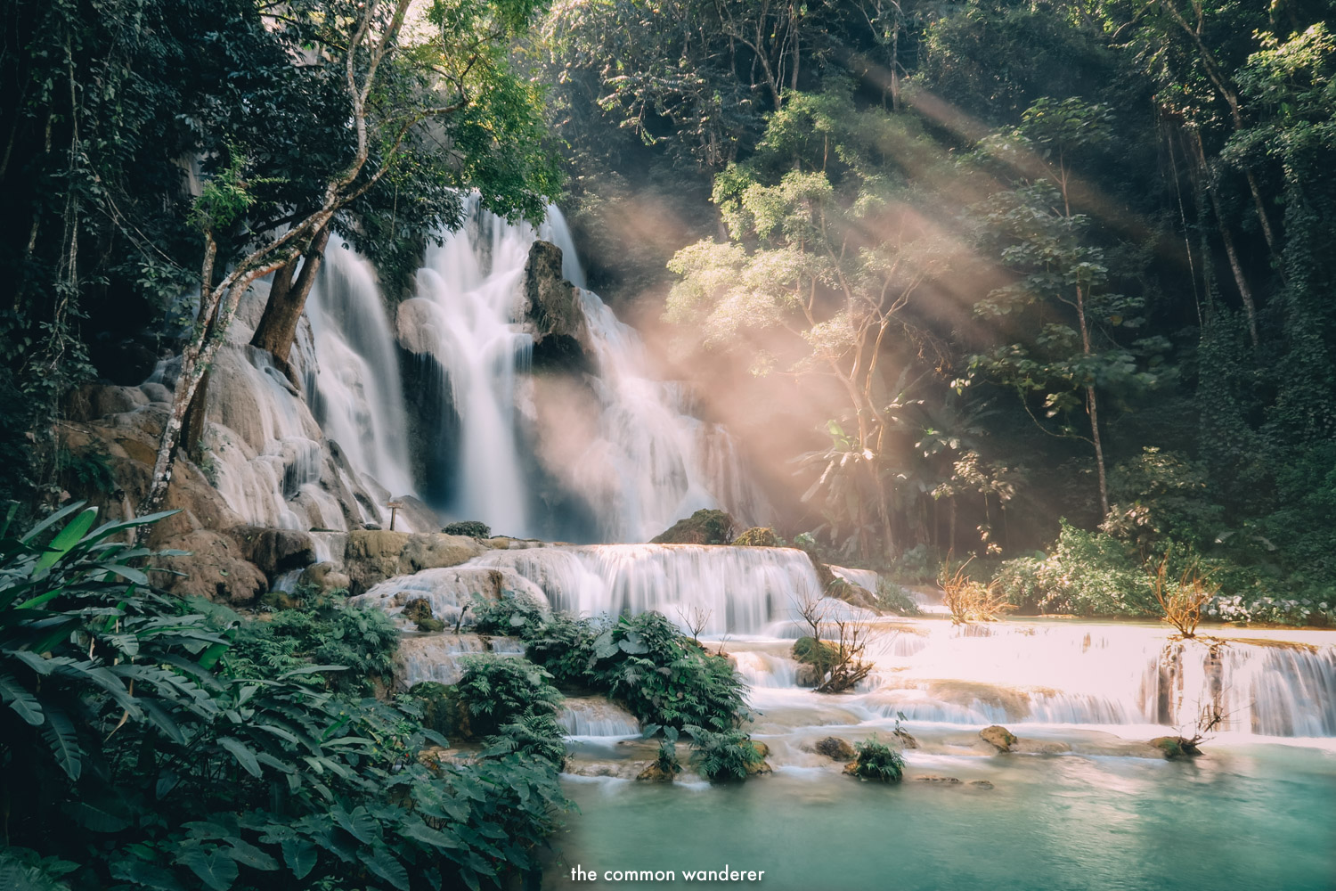 - We definitely recommend visiting Kuang Si waterfall early (8am), before the hoards of tourists arrive. After 11am, it becomes extremely busy. For those wanting to swim, there are changing facilities.