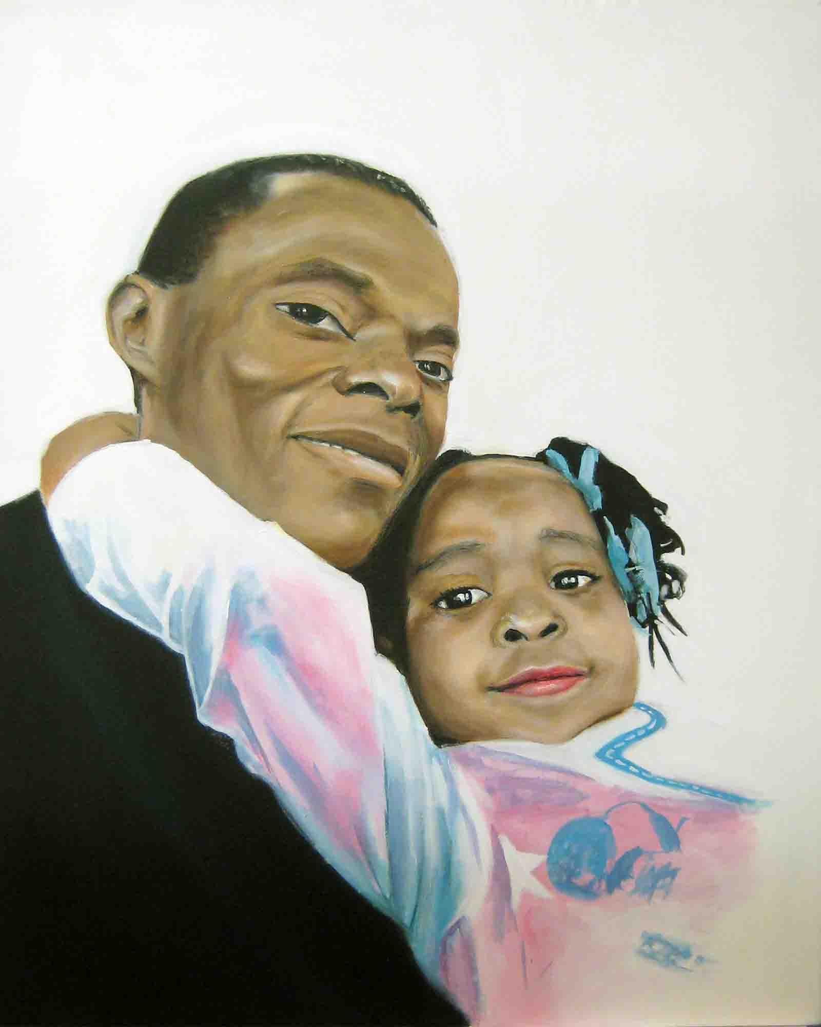 Innocent & his daughter