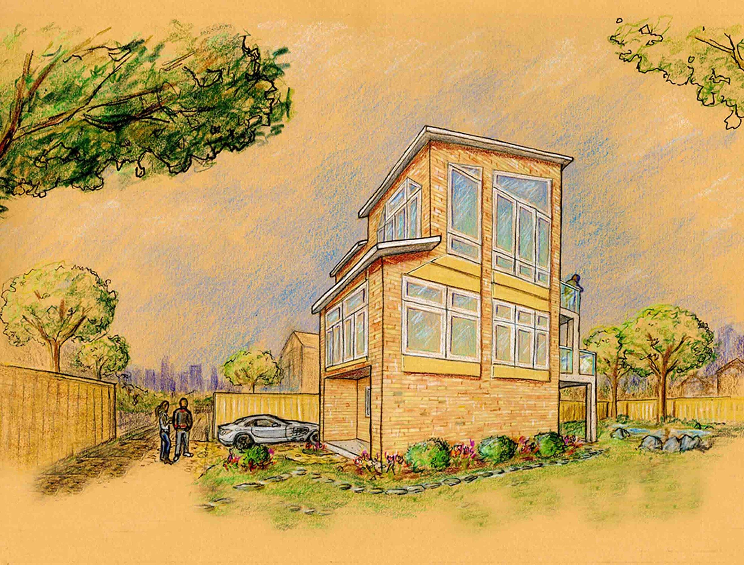 The Laneway House