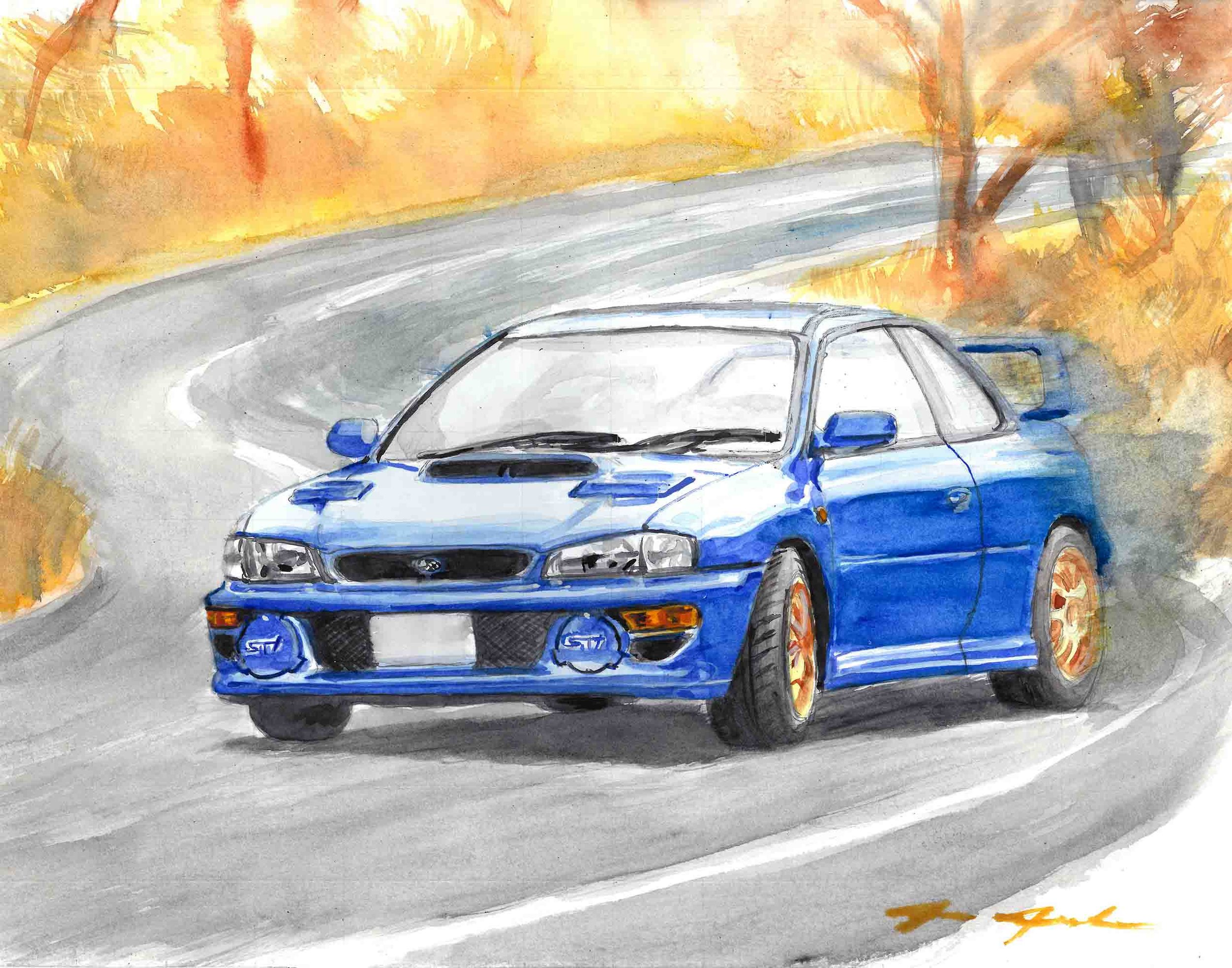 Subaru STI 22B