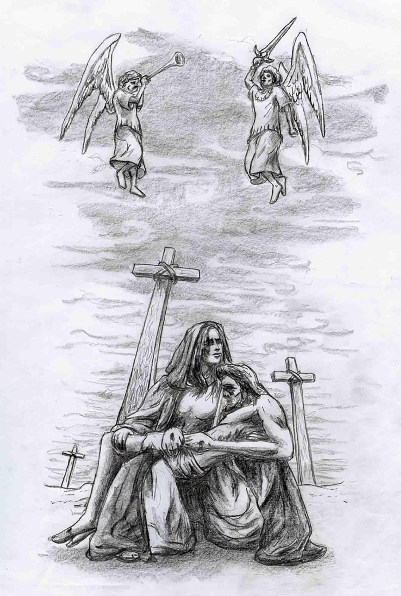 Pieta tattoo II