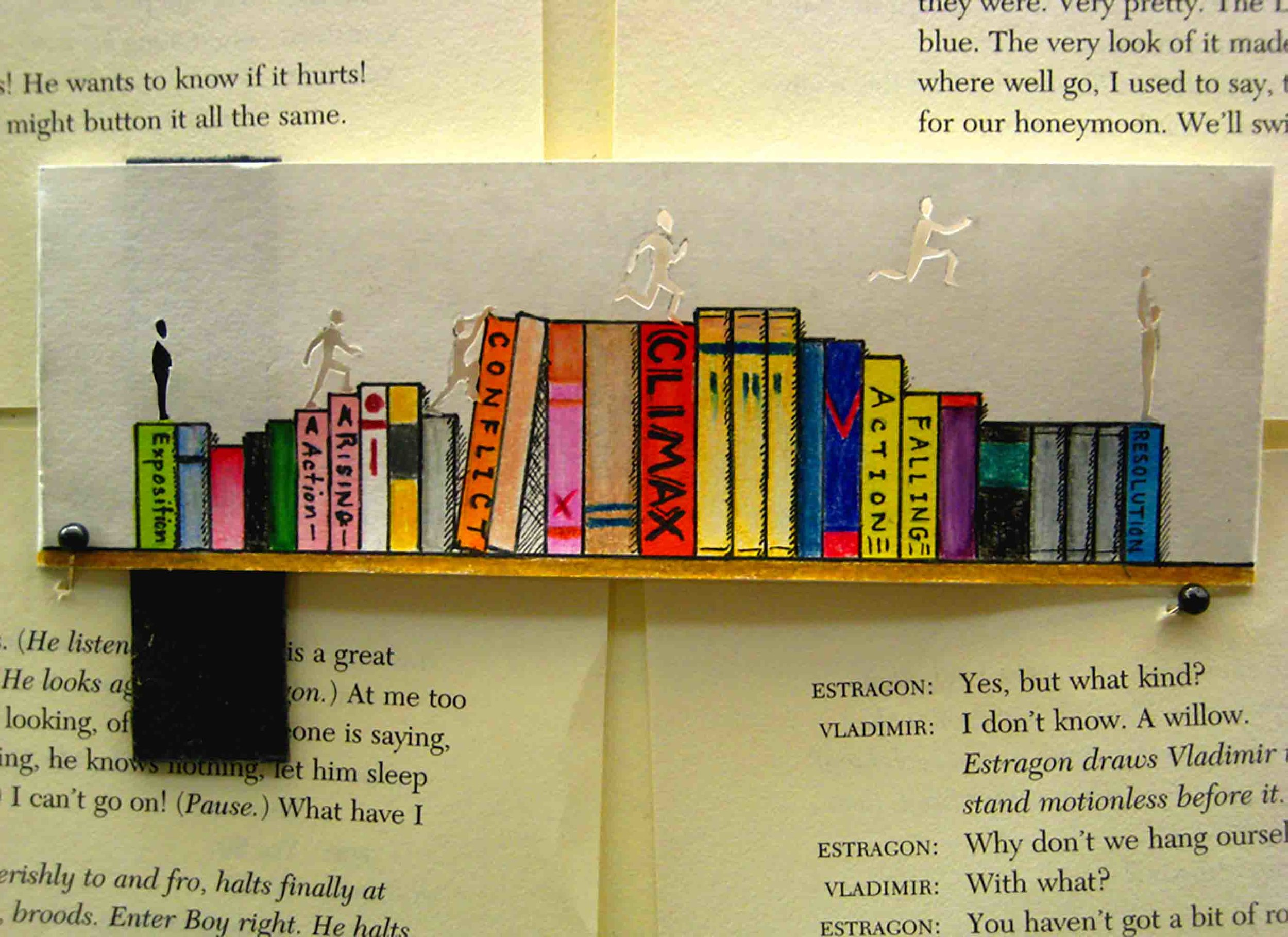 I Am Protagonist - bookmark