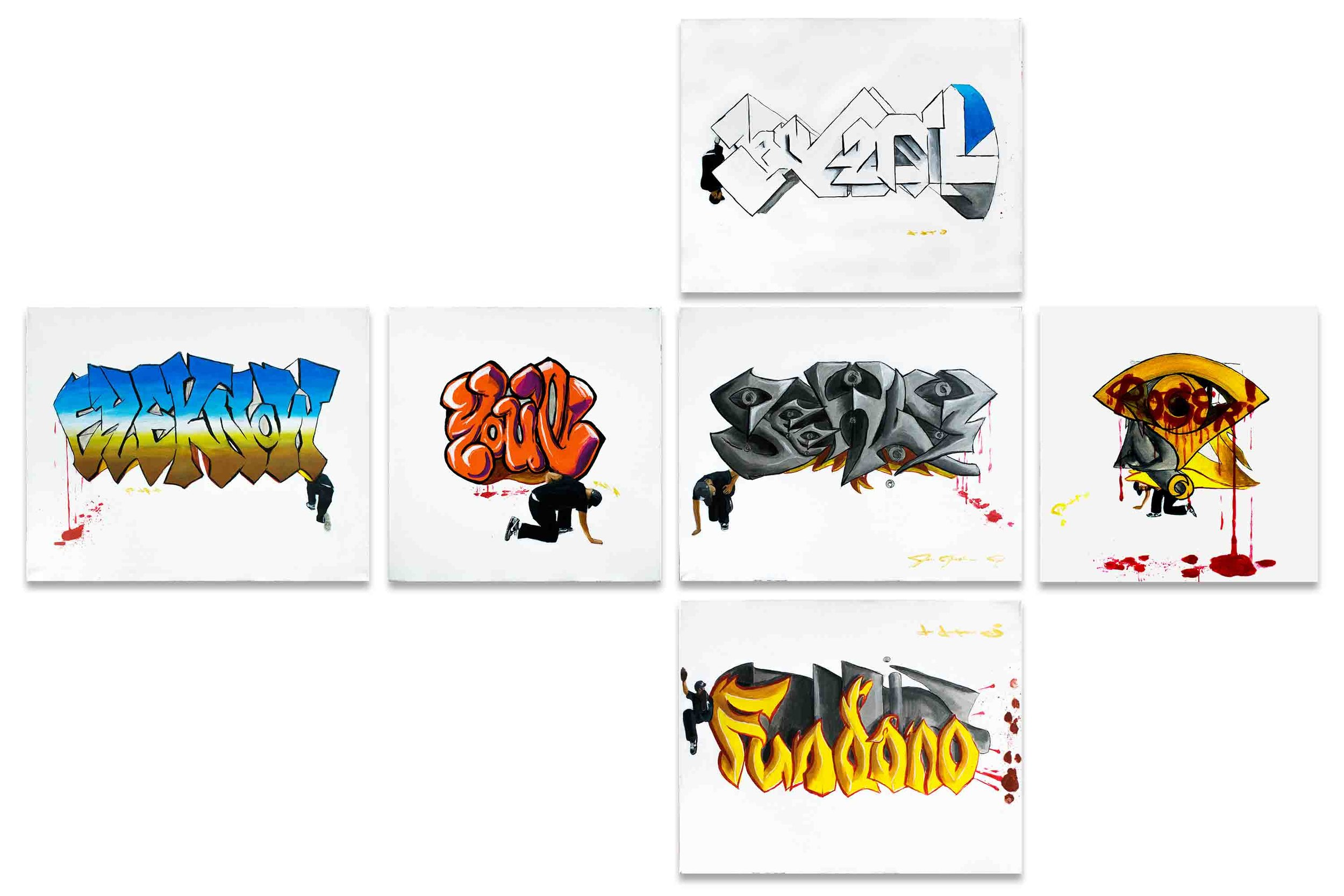 Super-Saturated pseudo-Graffiti