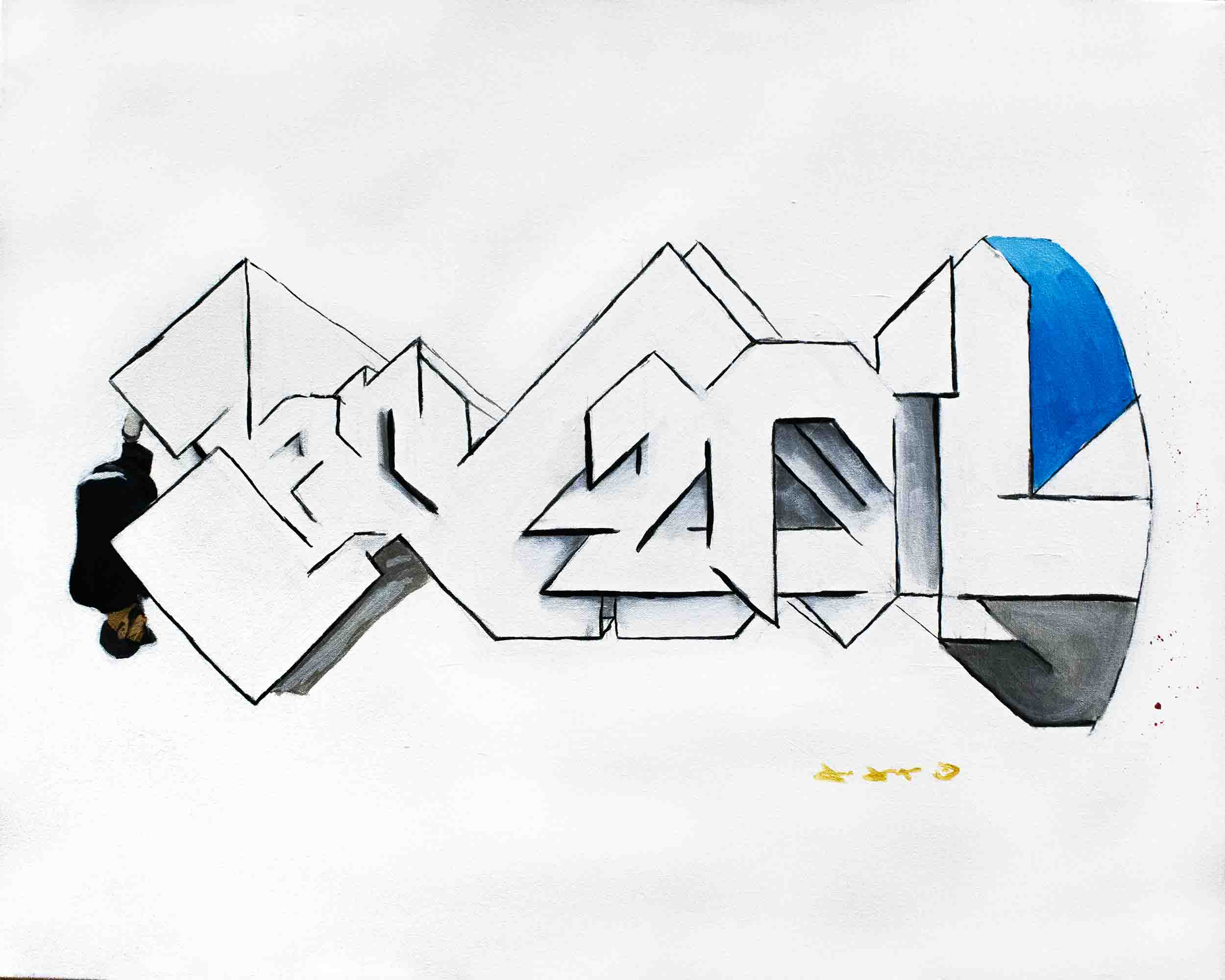 Super-Saturated pseudo-Graffiti - top