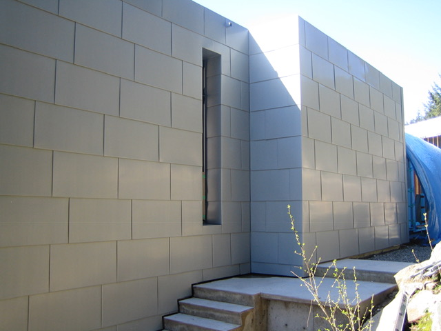 Metal Panel Siding - West Vancouver, BC