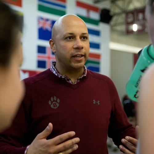 PAT COSQUER  - Is entering his 12th season as Head Men's and Women's Squash Coach at his alma mater, Bates College. Bates is a combined 309-200 since Coach Pat Cosquer took over the program in 2008 and in 11 seasons with the Bobcats, Cosquer has coached 3 All-Americans, 5 NESCAC Rookies of the Year, 4 NESCAC Players of the Year, several 1st and 2nd Team All-NESCAC performers and 1 (two-time) National Individual Champion. In 2010, Cosquer was named both the NESCAC Men's and Women's Coach of the Year and in 2016 he was named NESCAC Men's Co-Coach of the Year.