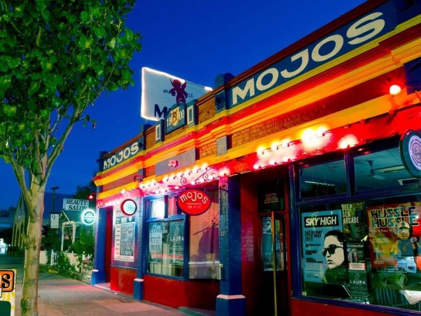 Mojo's bar - A local establishment…