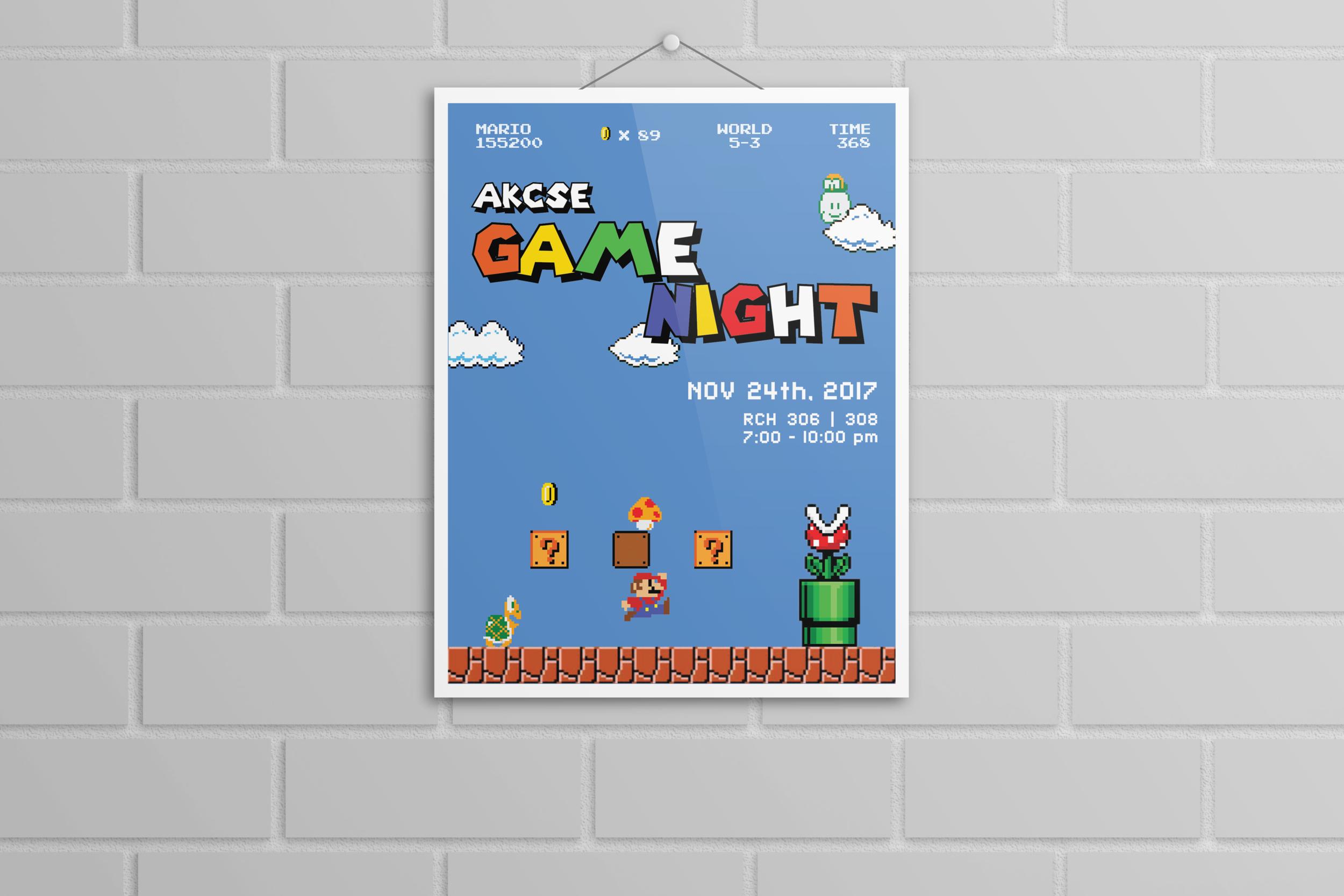 Game Night Event.