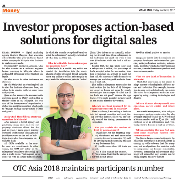Malay Mail Blog Salescandy Close More Sales