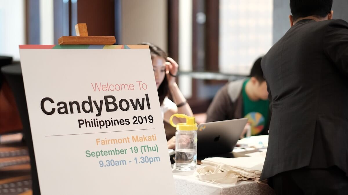 Poster with CandyBowl PH 2019 information