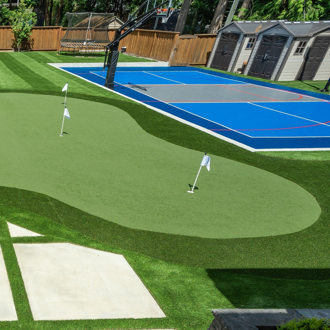 Synthetic grass FOR SPORTS - • Synthetic grass tennis court• Synthetic grass soccer• Synthetic grass basketball court• Synthetic golf turf• Synthetic grass for playground