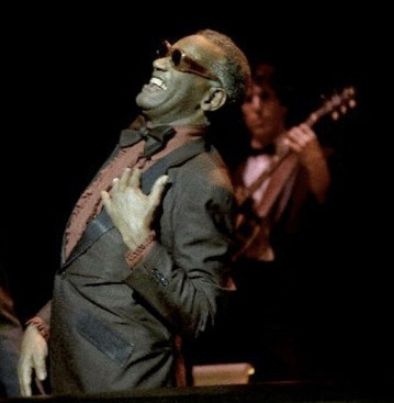 Jeff w/ Ray Charles 1985