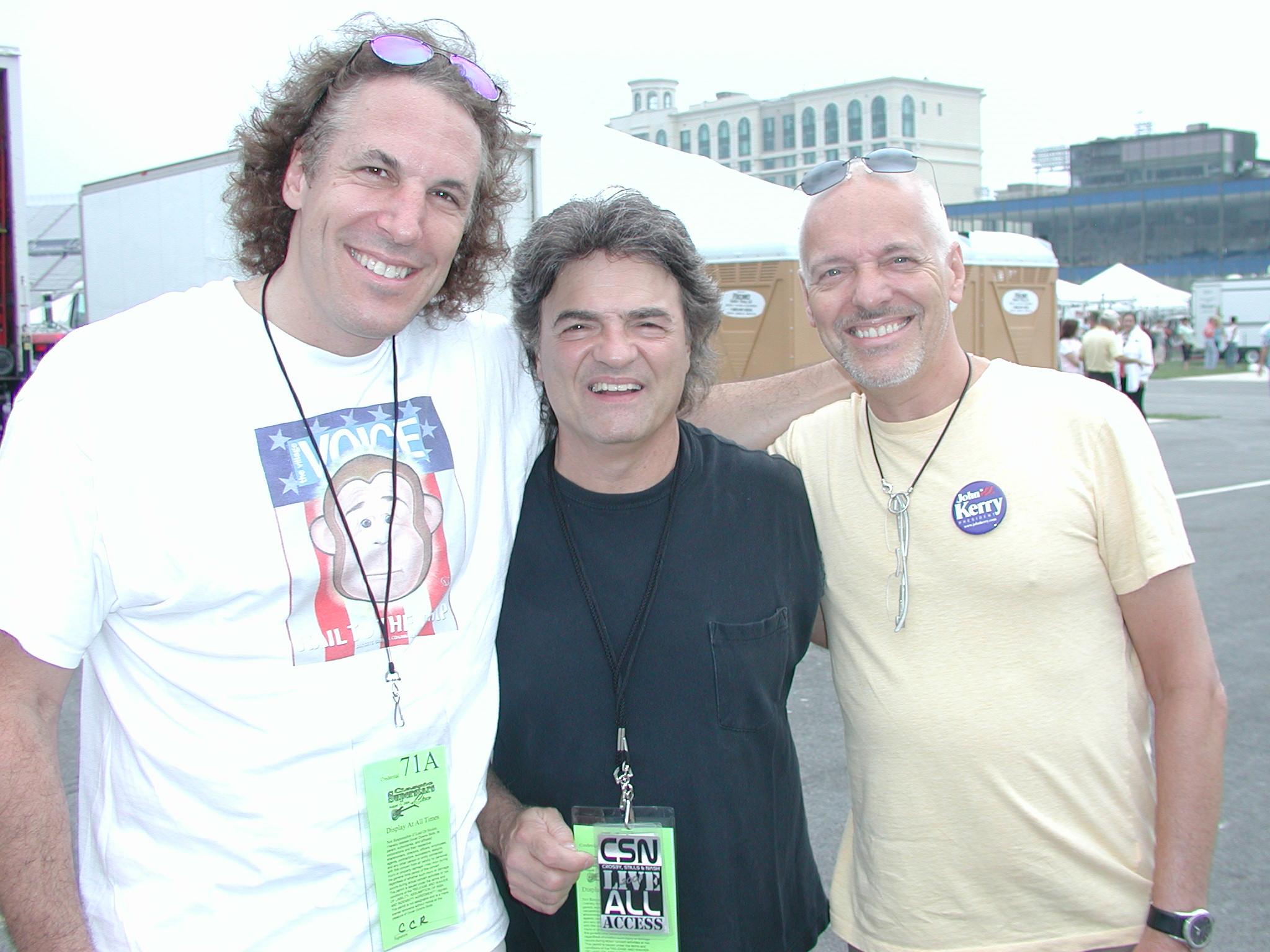 jp, Joe Vitale & Peter Frampton