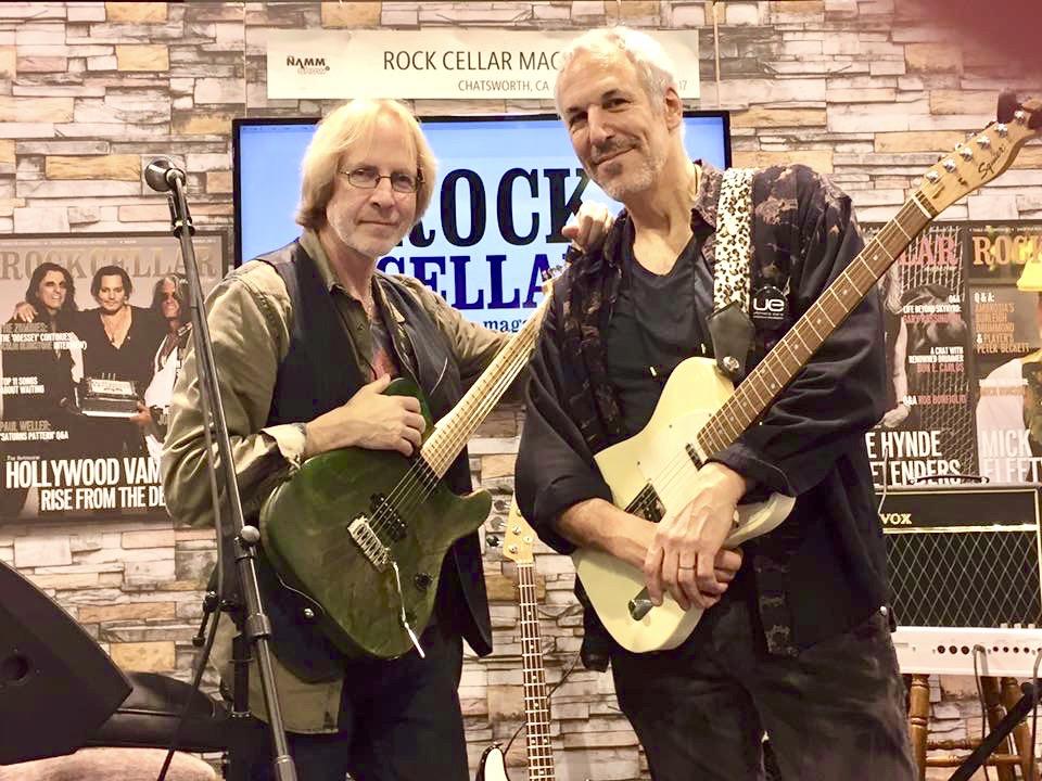 Steve Postel & Jeff Pevar NAMM 2017