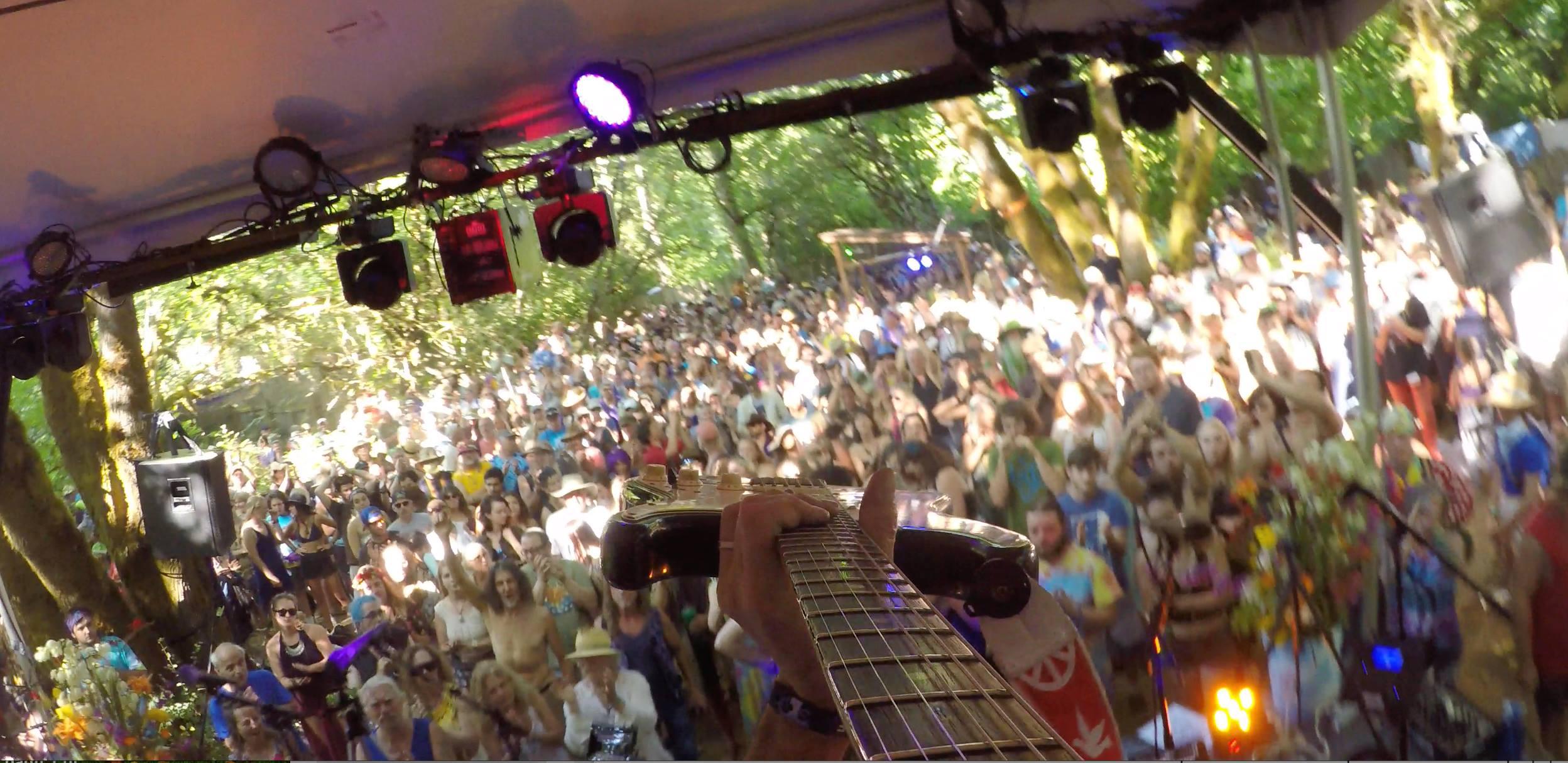 Jeff Pevar Guitar mania with ZEPDRIX, Oregon Country Fair
