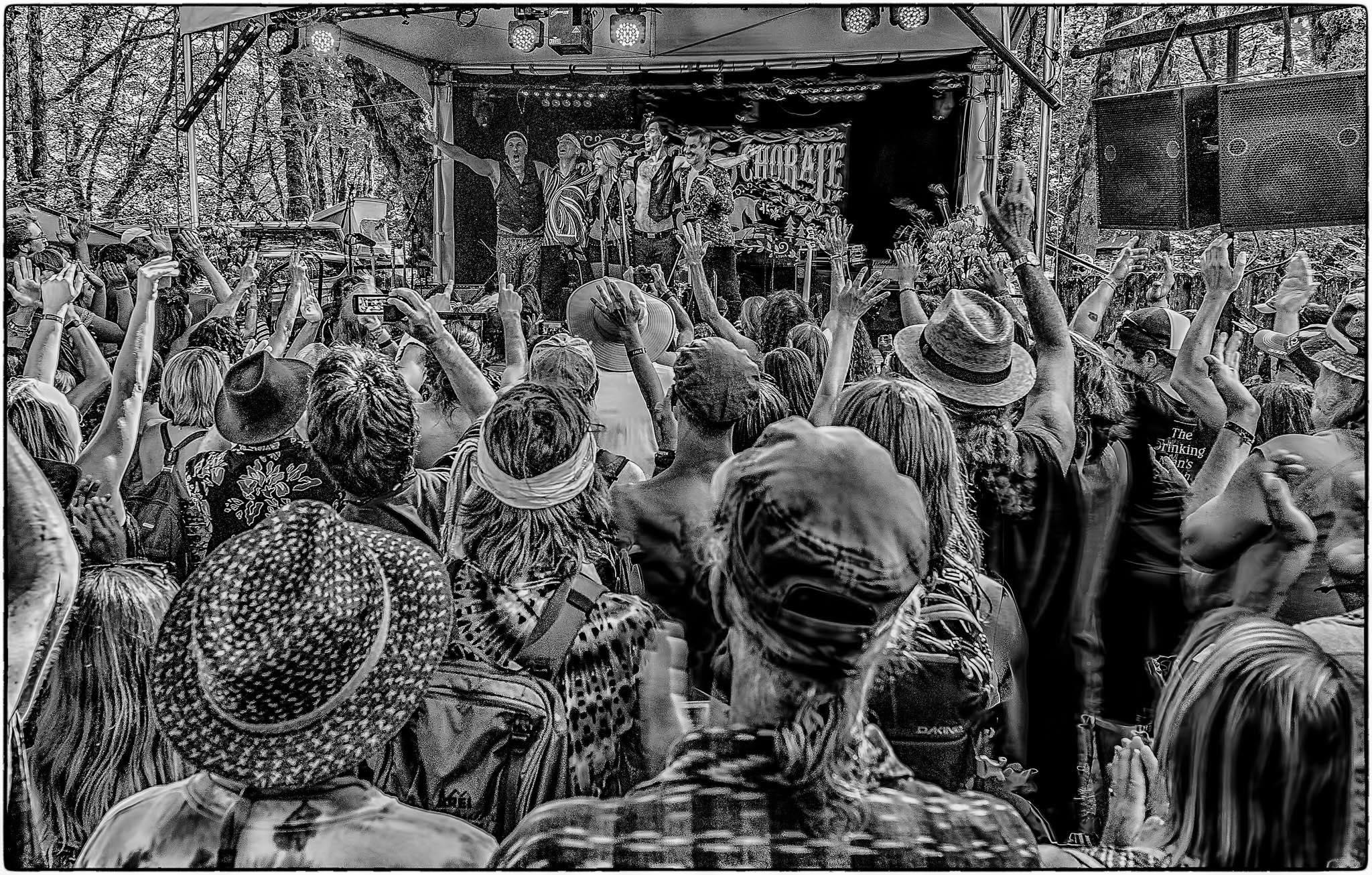 ZEPDRIX , Oregon Country Fair. Photo by Geoffrey Squier Silver