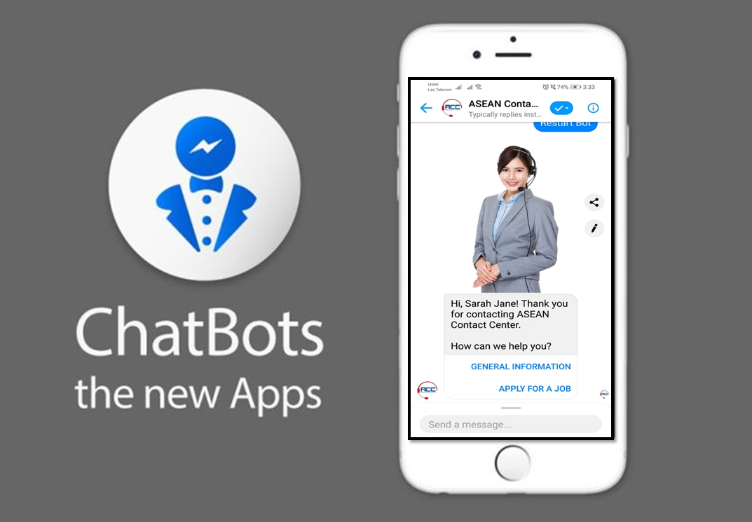 - As we traveling to another generation, our concern now a days is how to make our life easier and faster.Everyday, we encounter different problems and usually got answers in the following hour or day, so we come up with these solution using ChatBots to answer all your concerns and inquiries automatically in just a second anytime you want.