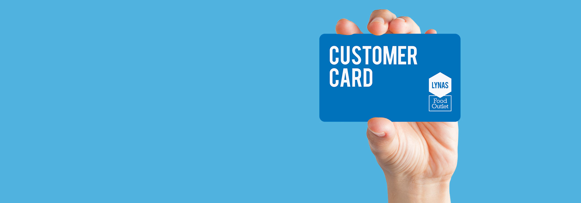 Customer Card - top up with account prices