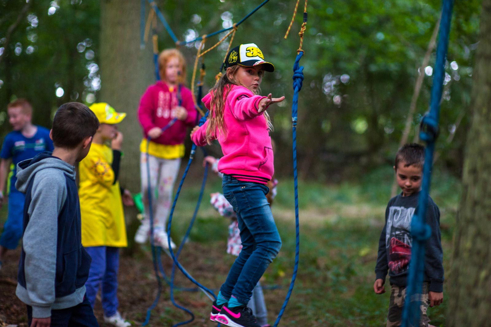Low Ropes Session
