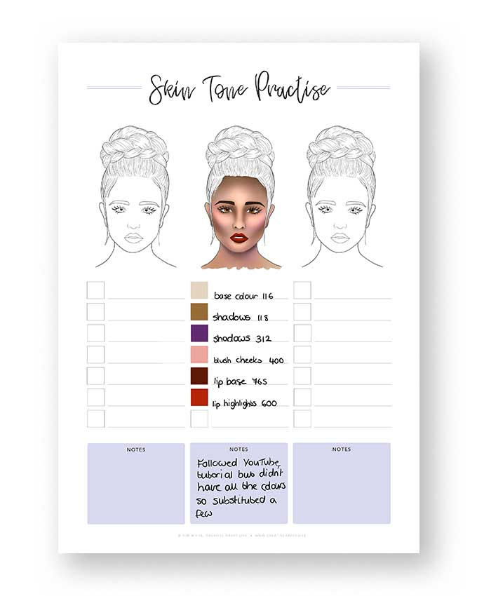 Skin Tone Practise
