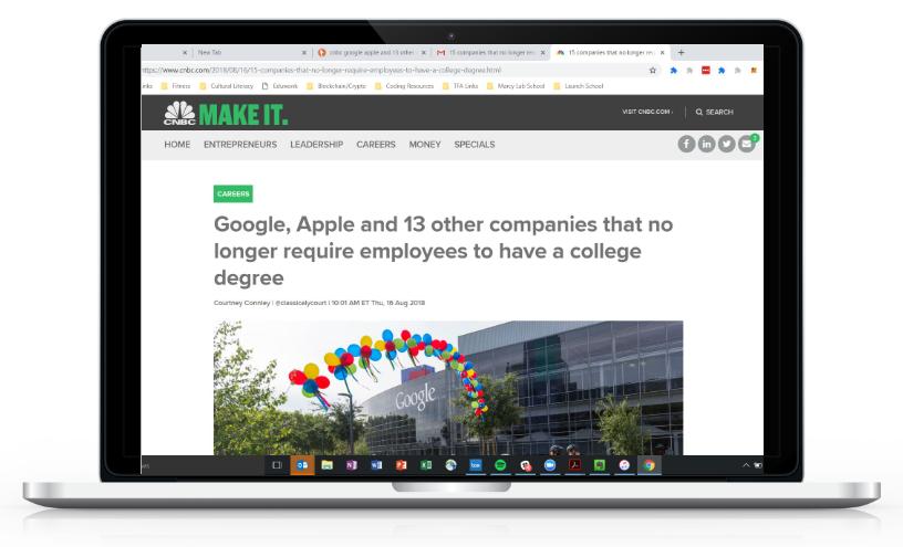 Tech Jobs Headline