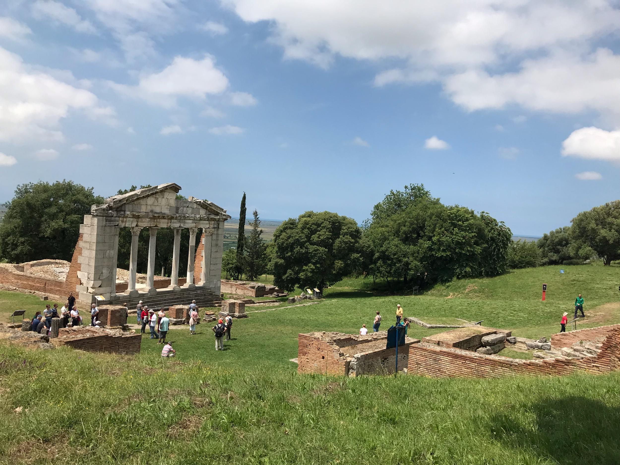 Apollonion arkeologiset rauniot. Kuva Mirva Rannisto