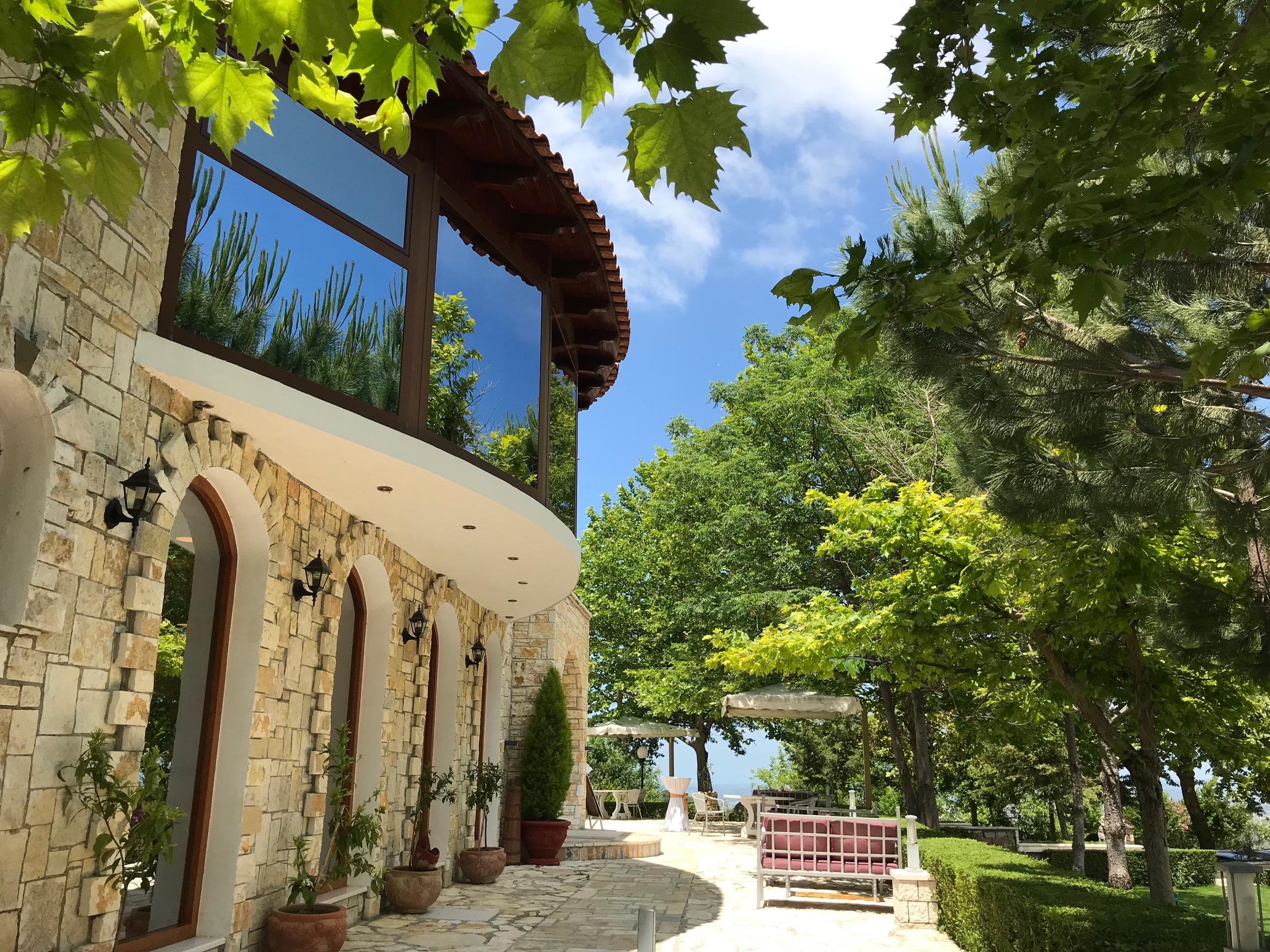 Akropoli ravintola. Kuva: Mirva Rannisto