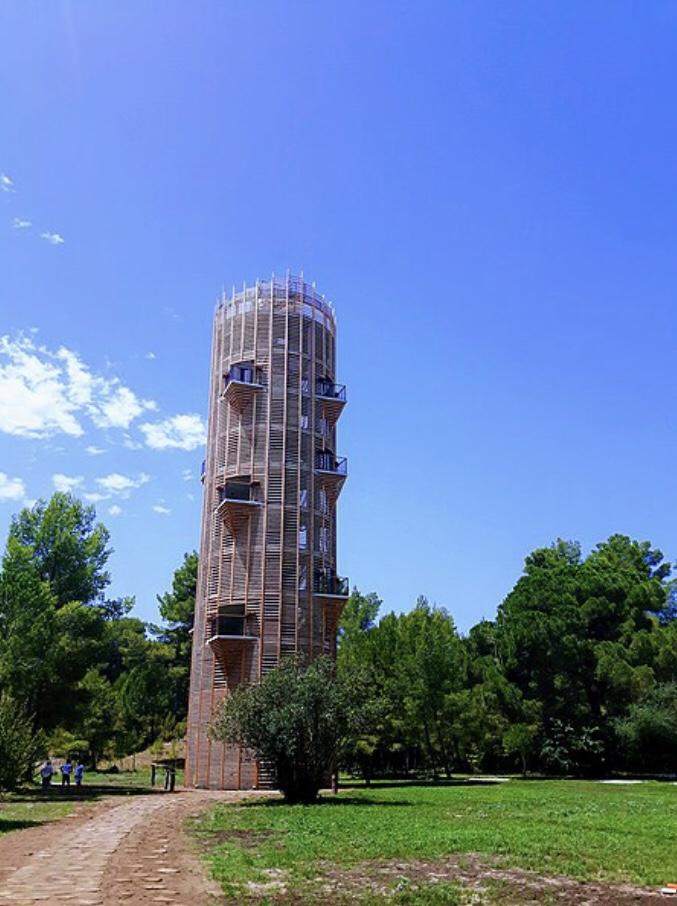 Uusi näkötorni.