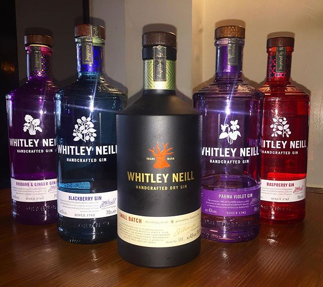 Our @whitleyneillgin collection😍 treat yourself to your favourite gin and tonic in this beautiful weather ☀️🍸