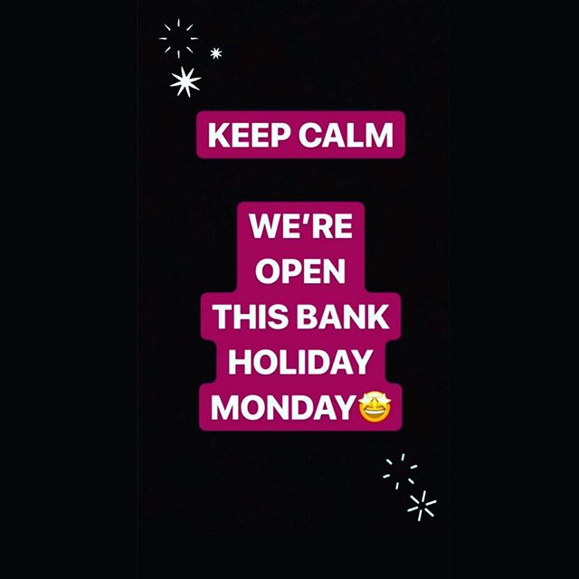❗️THIS BANK HOLIDAY MONDAY❗️ We are open 12:00 - 20:00 with food being served 12:00 - 15:00🍽🍺 Come and join us to enjoy a long weekend🎊  Call to book your table now - 01827715701 📞