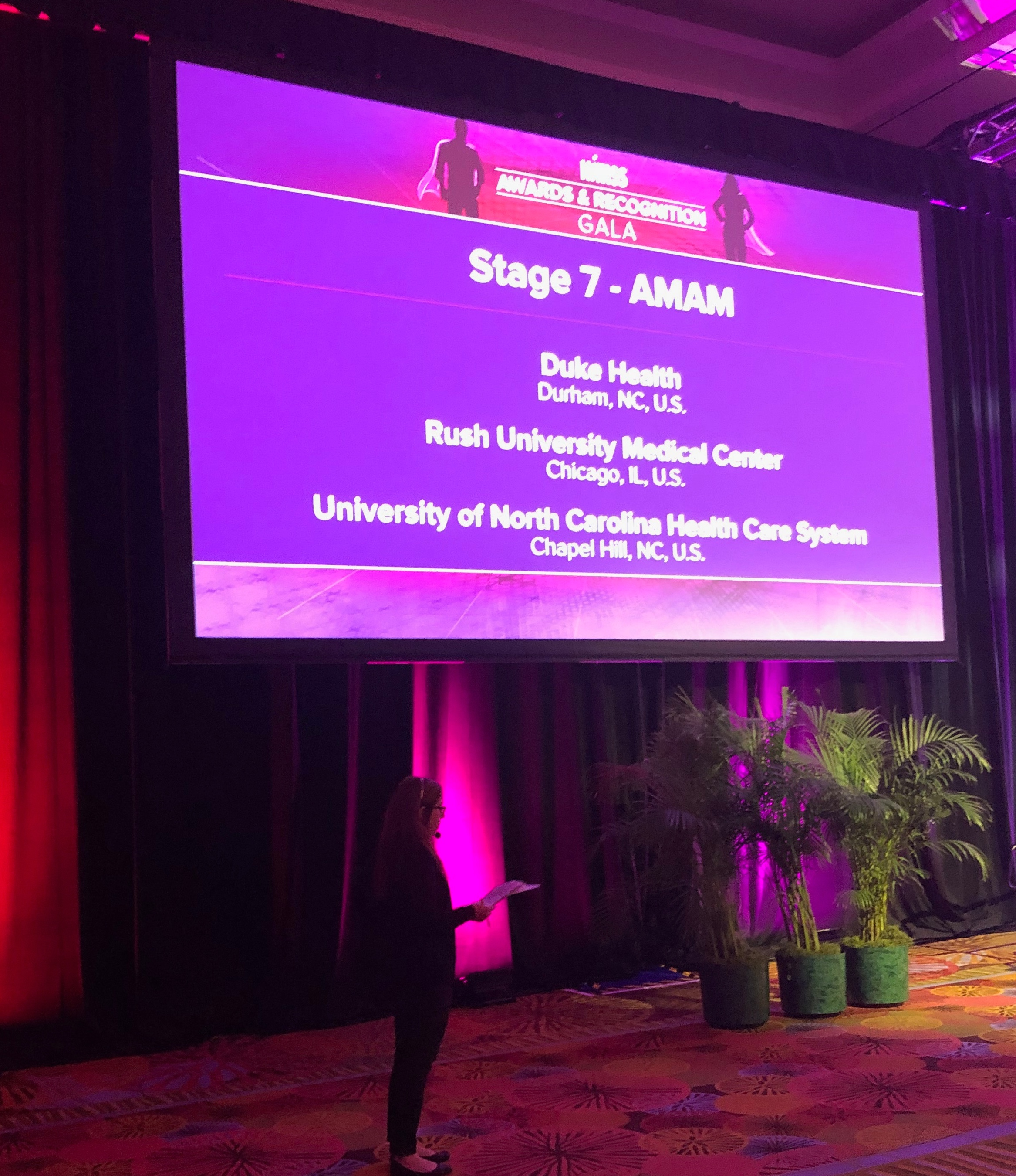 The world's first AMAM Stage 7 organizations