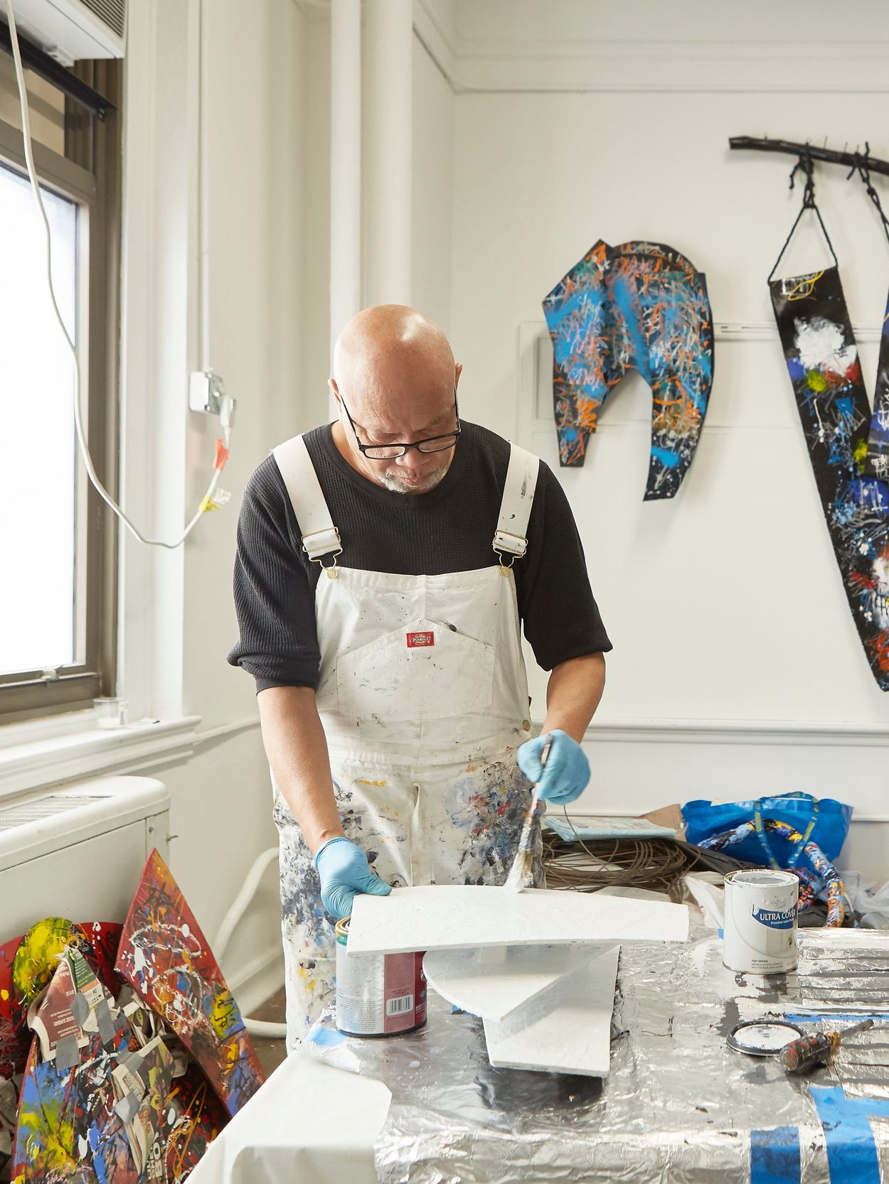 Mr. G. in 3 Dimensions - G. Kellum is an artist, painter, sculptor, and full-blown Bok legend. We sat down with him last month in his quiet, sunny studio, a space full of graphic and multi-dimensional creations. G., in his signature paint-splattered overalls, talks to us about his mission as an artist, his first tour of Bok, and the woman who motivated him to pursue his passion.
