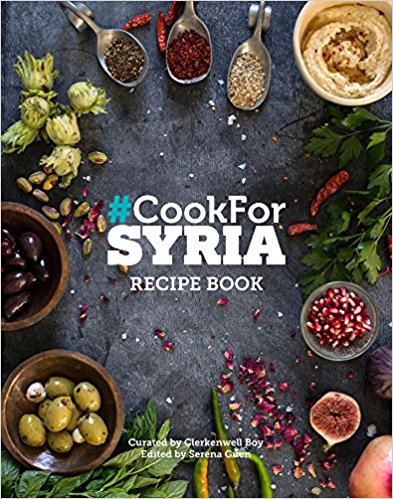 The Cook For Syria cookbook became an Amazon Bestseller