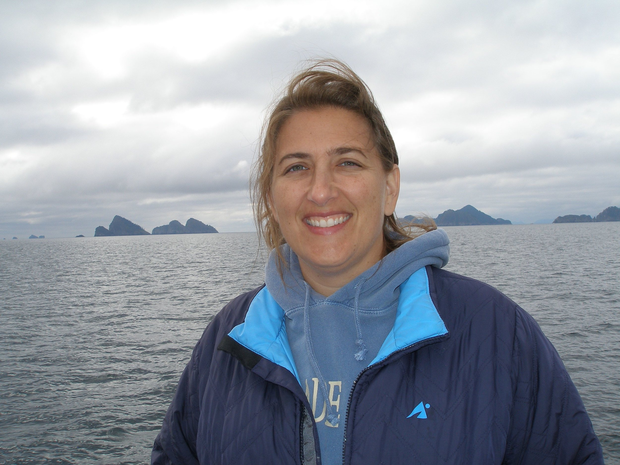 Whale watching excursion in Alaska - we saw some!