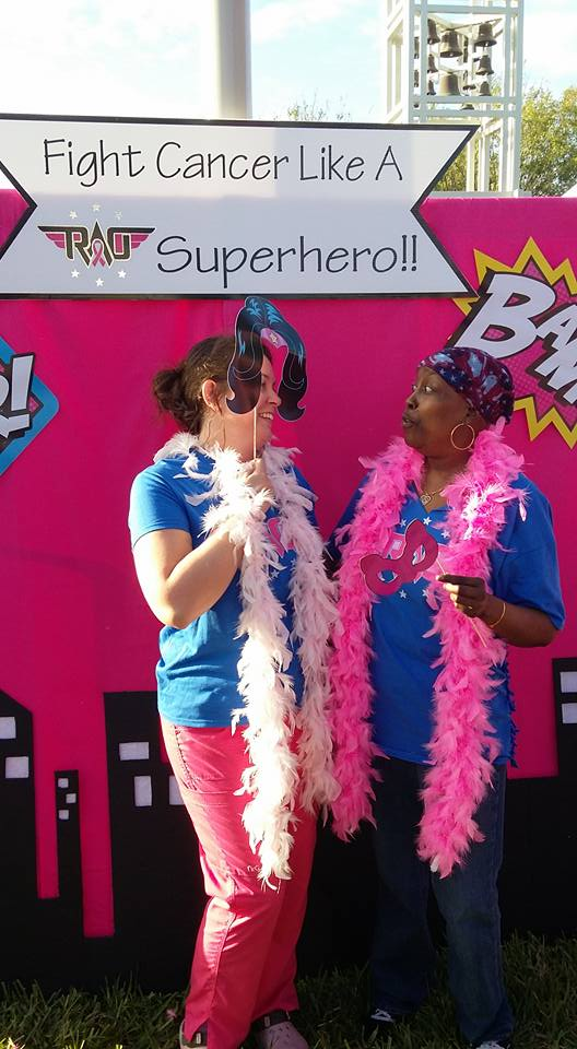 Michele Barkley, Yvonne Seymor-Palmer. RAO's very own superheroes, Michele and Yvonne, who remind us that compassion always comes first. You inspire us. We hope you'll be inspired by our event photos, and remember that none of us is alone in our quest to defeat cancer.