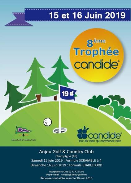 Candide poster Anjou Golf