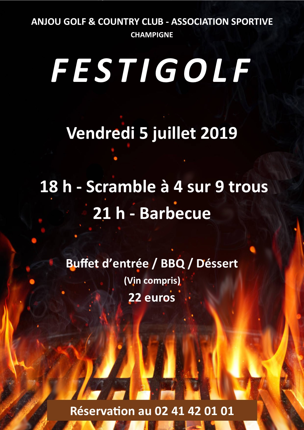 Festigolf information Anjou Golf