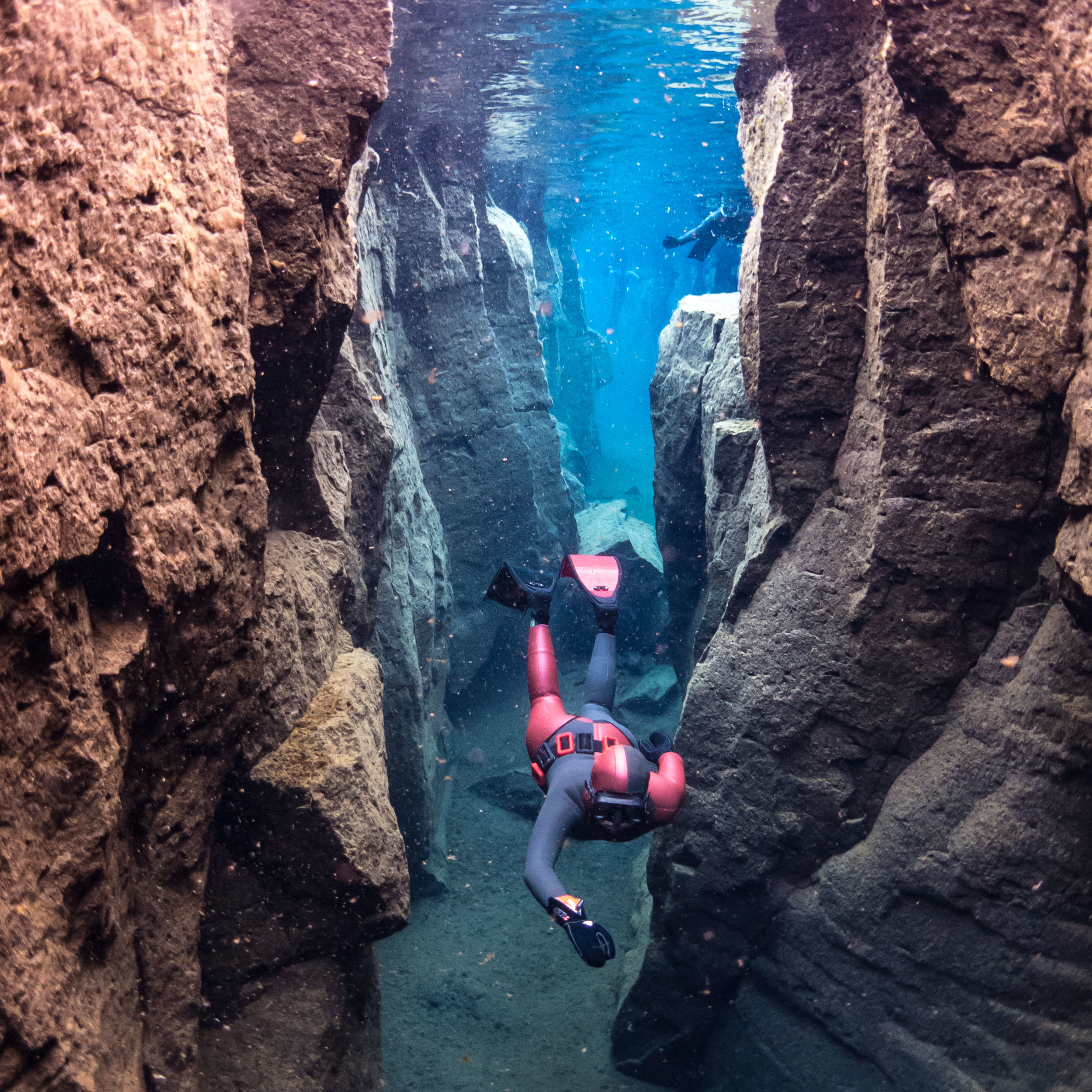 for adventurous divers - Iceland