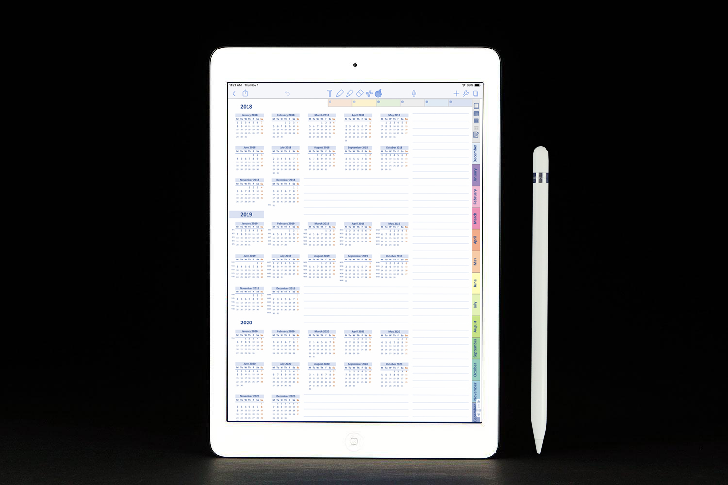 graphic about Digital Day Planner known as Laptop Variation Electronic Each day Planner DIGITALPLANNER247